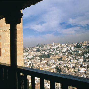 destinos Granada vista desde la Alhambra