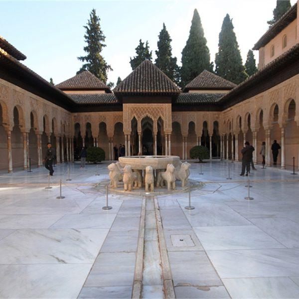 destinos Alhambra de Granada, Patio de los Leones